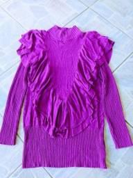 Blusa de frio Tam g