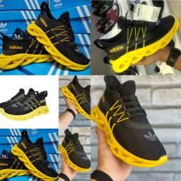 Novo Lançamento Tênis Casual Infinite Caminhada adidas Yeez academia