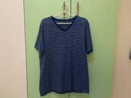 Camisa Azul Listrada Aramis G