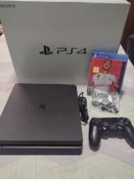 Título do anúncio: PS4 - Console Playstation 4 1Tb (Aceito cartões)