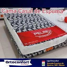 **Cama Box Casal**