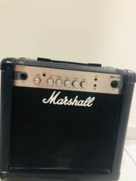 Amplificador Marshall Mg15g 15w Novo Lacrado Com Nf Cubo