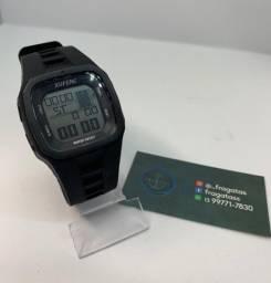 Relógio prova de água preto estilo ripcurl
