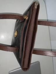 Bolsa Victor Hugo couro - vintage relíquia anos 80 em exelente estado