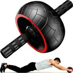 Roda Larga Para Exercícios Abdominal Lombar Ab Wheel Large
