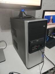 Cpu completa core2 duo E8400 500gb HD placa de vídeo gforce 210