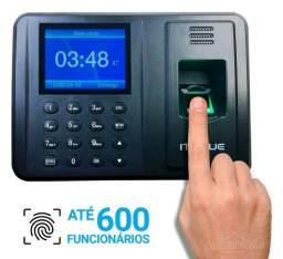 Relógio De Ponto Com Leitor Biométrico Até 600 Pessoas