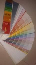 Mostruário de cores