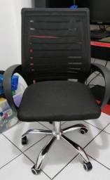 Cadeirade Escritório Giratória Diretor Nell - PROBLEMA NO PISTÃO