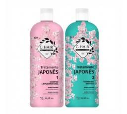 G.Hair Kit Tratamento Japonês 2x1L<br>R$ 85,00