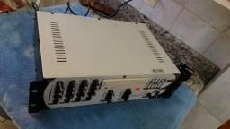 Cabeçote / Mixer Etelj Amplificador e mesa de som
