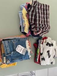 Vendo lote de roupas infantis semi novas
