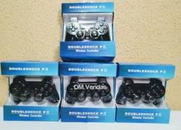Controles de PS3 Dualshock Novos na Caixa
