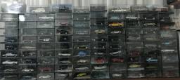 Coleção James Bond Cars 007 com 97 Carros (escala 1/43)