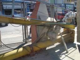 Máquina ponte braço pra descarregar chapas