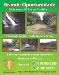 Chácara 60km de Curitiba - Troco em carro - Financio na promissória