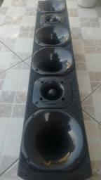 Kit cornetas 4x2 - Zerado Parcelo