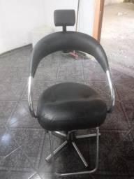 Cadeira de salão cabelereiro