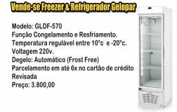 Freezer & Refrigerador Gelopar