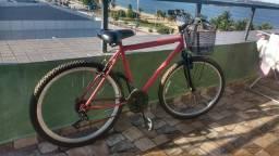 Bicicleta de Marcha Com Cestinha