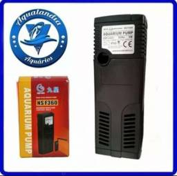 Filtro Interno Mini Minjiang Ns F360 360l/h 110v P/ Aquário
