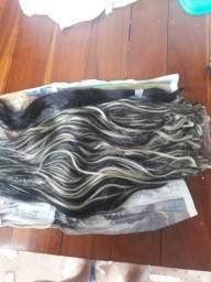 Vendo cabelo com mechas