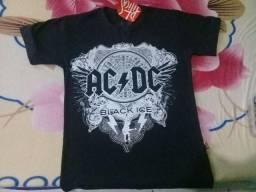 Camiseta Ac/Dc Contato *)