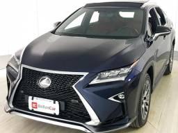 Lexus RX-350 F-Sport 3.5 24V Aut. - Azul - 2018 - 2018
