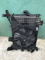 Radiador defletor e ventoinha da Duster 2013