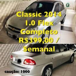Aluguel Locação para UBER e 99 POP - Classic 2014 Flex 1.0 Completo R$399 Semanal