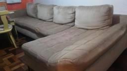 Sofá 4 lugares com chaise