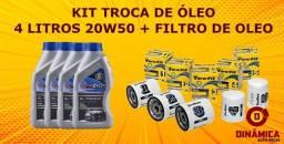 Kit Troca Óleo + Filtro