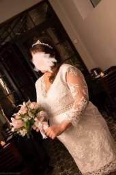 Vestido de noiva Gestante