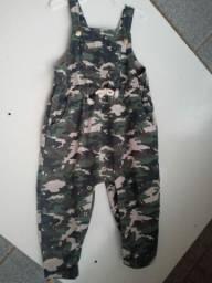 Macacão Soldado Infantil