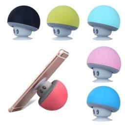 Caixa De Som Cogumelo Bluetooth Portatil