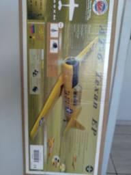 Aeromodelo T6 elétrico.