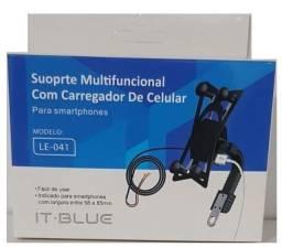 Suporte Multifuncional com Carregador de Celular - Loja Rf Informatica