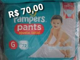Fraldas Pampers G