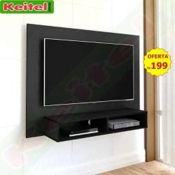 Painel P/ Tv Flash - cor: preto