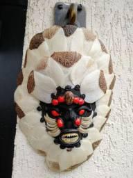 Máscara indígena amazônica