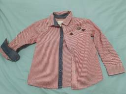 Camisa infantil manga dobrável (4)