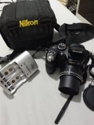 Câmera semi profissional fuji film