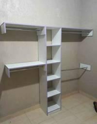 Kit mini closet + araras 320$