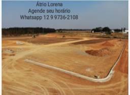 Terreno Alto Padrão em 60 meses * Loteamento Atrio Lorena * oportunidade