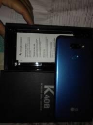 Vendo k 40  da LG todo documentado e acessórios