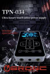 Fonte Digital Bronc Super Luxury TPN - 034 para Maquina de Tatuagem