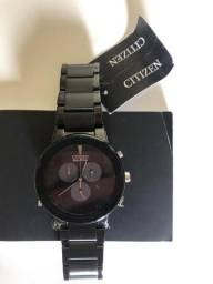 Relógio Citizen Eco Drive Axion - Carregamento Solar