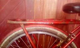 Bicicleta boa pra trabalho com a garupa velha ja