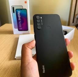 Smartphone Xiaomi Redmi Note 8 Preto 4Gb Ram 64Gb Memoria Lacrado