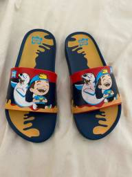Chinelo infantil Lucas Netto